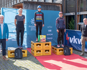 Die GesamtsiegerInnen des Trans Vorarlberg Triathlon NEU 2020!