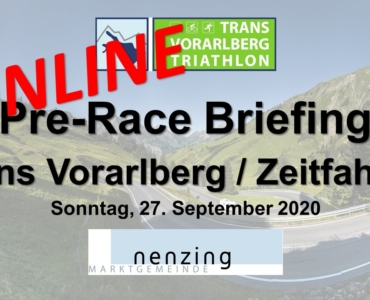 Pre-Race Briefing ist Online!